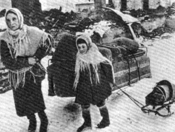 Блокадный Ленинград - фото