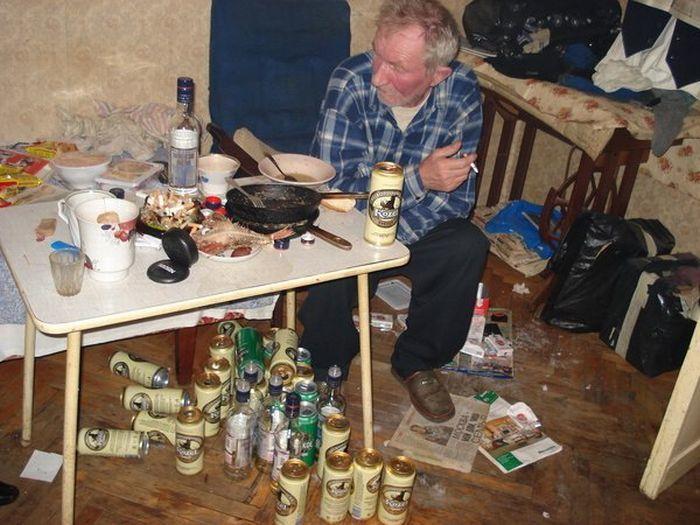 запойный алкоголик